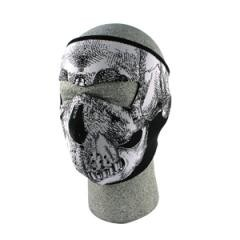 neoprene face mask-skull